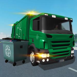 Trash Truck Simulator v1.6.1 (Mod - Money)