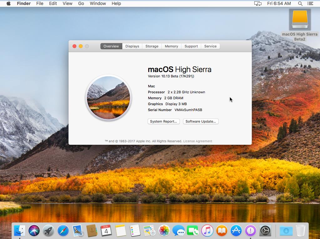 macOS High Sierra 10.13.1 Free Download