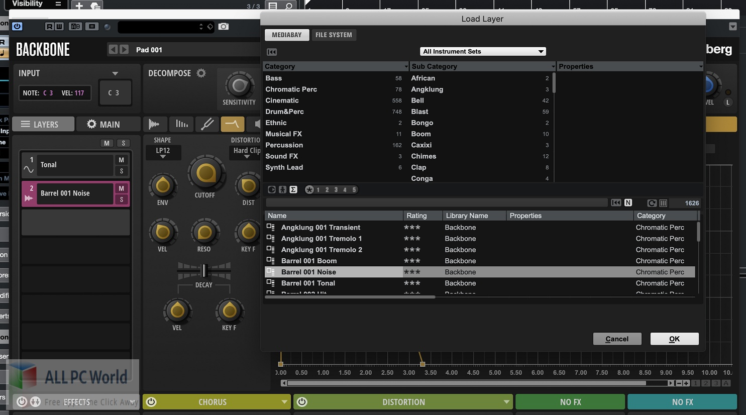 Steinberg Backbone 1 Free Download