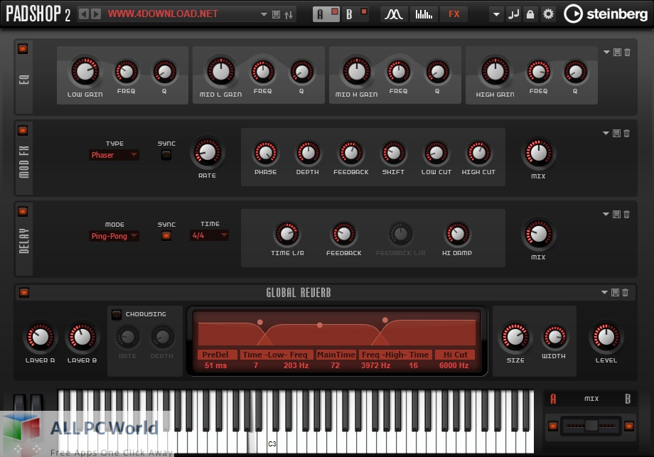 Steinberg Padshop Pro for Free Download