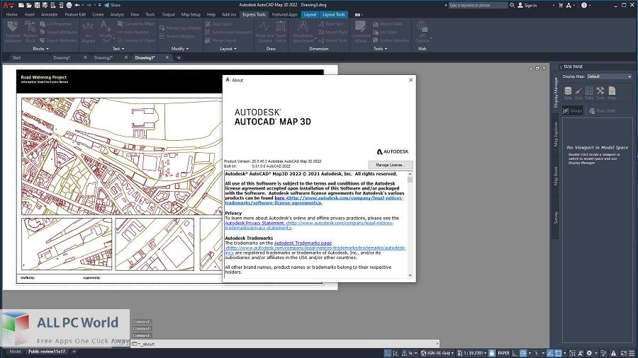 Autodesk AutoCAD Map 3D Free Download
