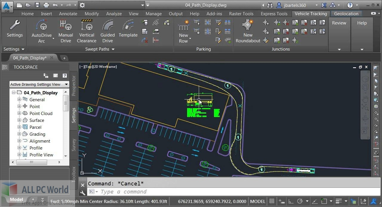 Autodesk Vehicle Tracking for Free Download