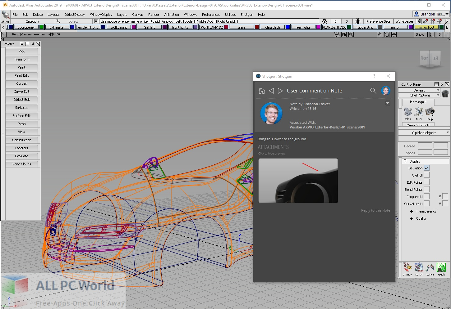 Autodesk Alias Surface Free Download