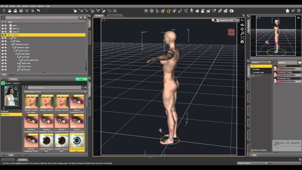 DAZ Studio Pro 2020 v4.15 Free Download