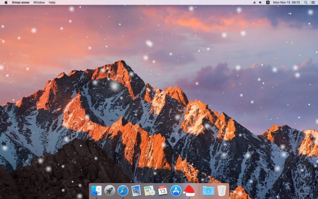 Xmas snow for Mac Download