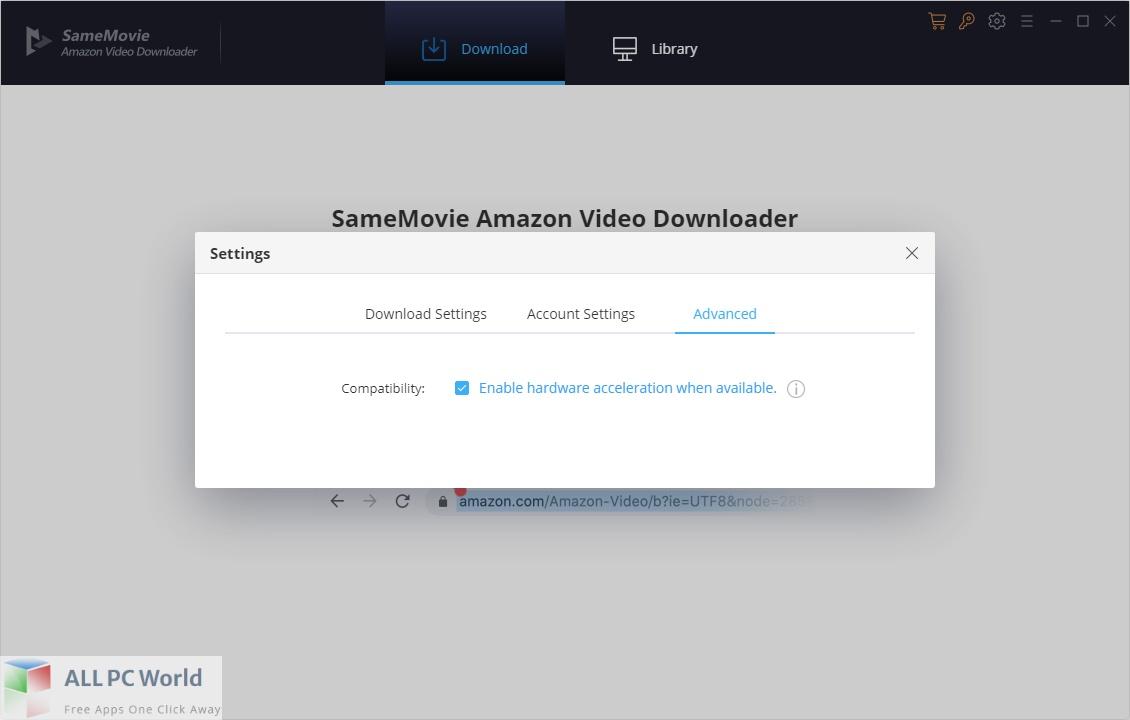 SameMovie Amazon Video Downloader Download Free