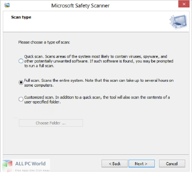 Microsoft Safety Scanner for Free Download