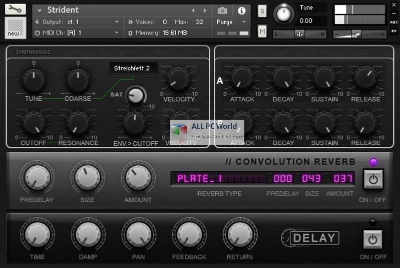 Synth Magic Retropolis KONTAKT Library Installer Free Download