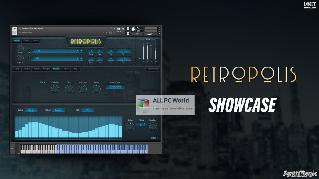 Synth Magic Retropolis KONTAKT Library Setup Free Download