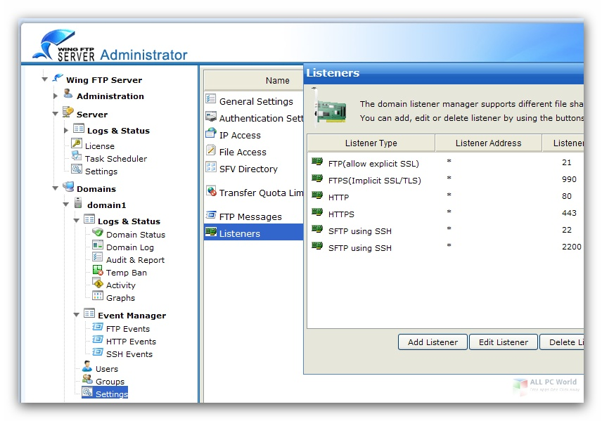 Wing FTP Server Corporate Free Download