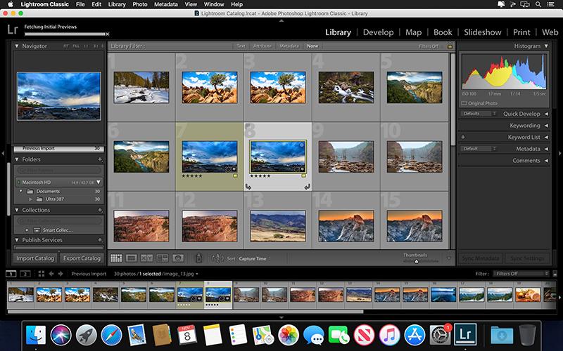Adobe Lightroom Classic 10.4 for Mac