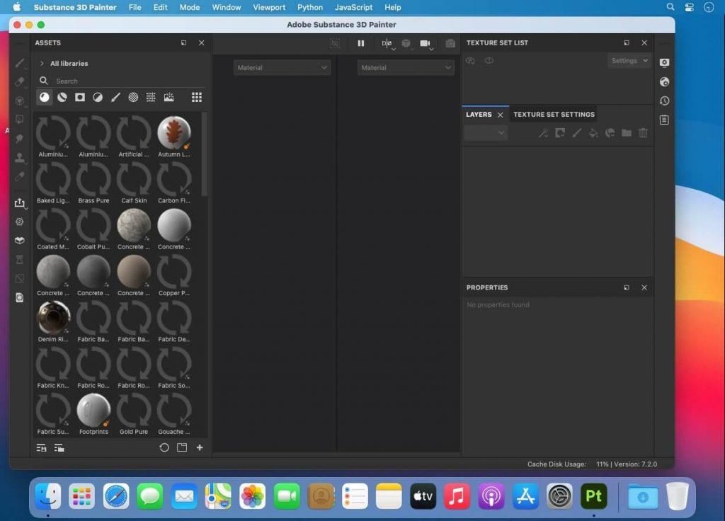 Adobe Substance 3D Painter v7.2 for Mac Free Download