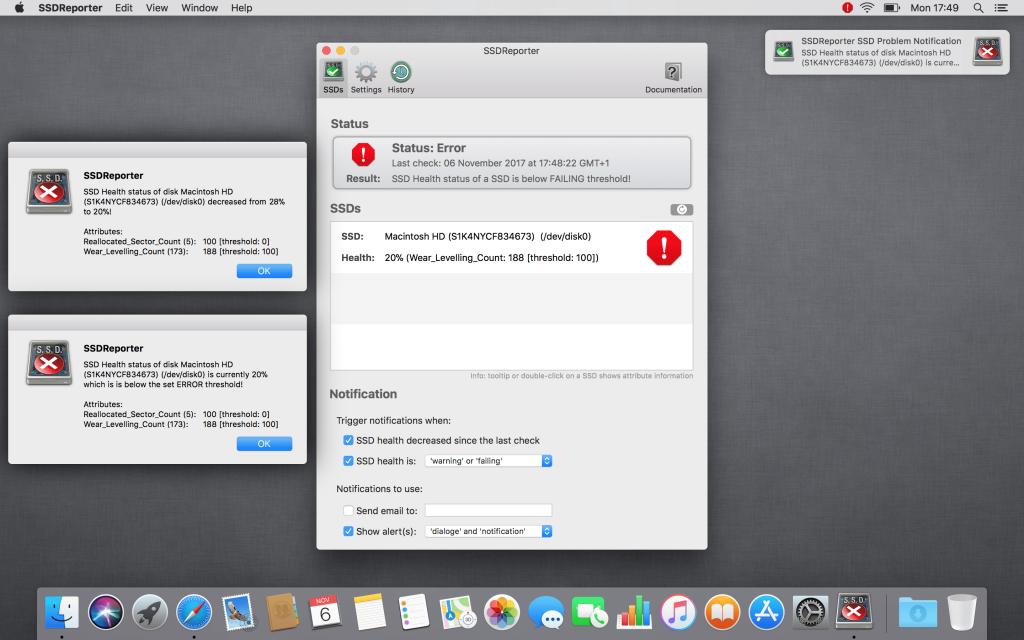SSDReporter for Mac Free Download